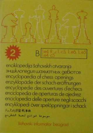 Encyclopedia Of Chess Openings B