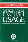 English Usage (Collins Gem Dictionary)