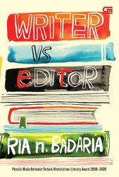 Writer vs Editor by Ria N. Badaria