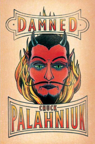 Book Cover Damned by Chuck Palahniuk