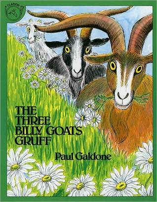 The Three Billy Goats Gruff by Paul Galdone