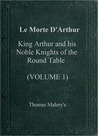 Le Morte d'Arthur, Vol 1