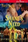 Shane's Need (Great Wolves of Passion, Alaska, #4)