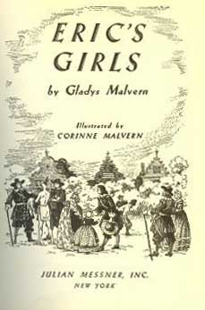 Eric's Girls by Gladys Malvern