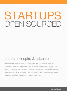 Startups Open Sourced by Jared Tame