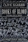 Books of Blood, Vols. 1-3 by Clive Barker