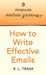 How to Write Effective E-mails: Penguin Writer's Guide
