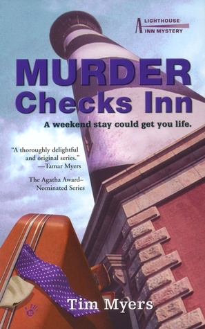 Murder Checks Inn (A Lighthouse Inn Mystery, #3)
