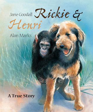 Rickie and Henri by Jane Goodall