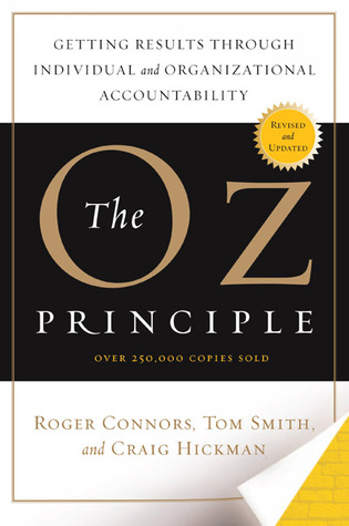 oz principle The first step, see it, means acknowledging the problem to own it is to assume responsibility for the problem and the results solve it means to formulate solutions.