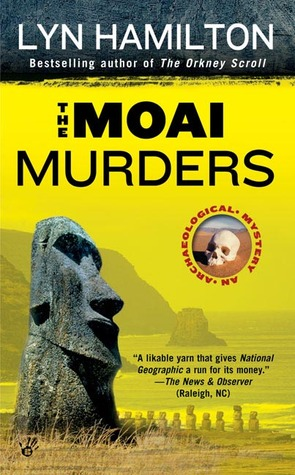 The Moai Murders by Lyn Hamilton