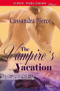 The Vampire's Vacation by Cassandra Pierce