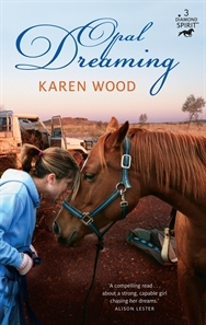 Opal dreaming by Karen Wood