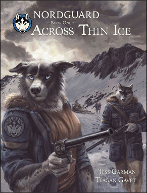 Across Thin Ice (Nordguard, #1)