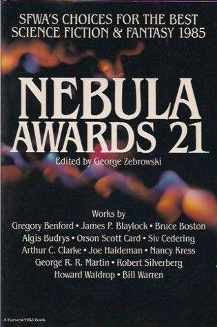 Nebula Awards 21 by George Zebrowski
