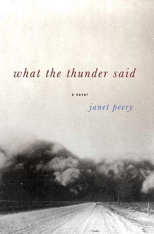 What the Thunder Said by Janet Peery