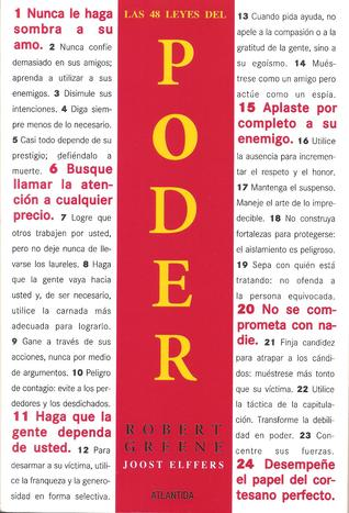 Las 48 Leyes del Poder by Robert Greene