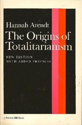 origins of totalitarianism The path to total terror the origins of totalitarianism by hannah arendt harcourt, brace 477 pp $675 a science-fiction tale of some years back.