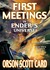 First Meetings in Ender's U...