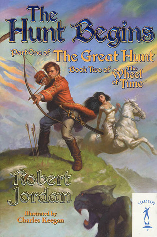 The Hunt Begins (The Great Hunt, #1) (Wheel of Time, #2)