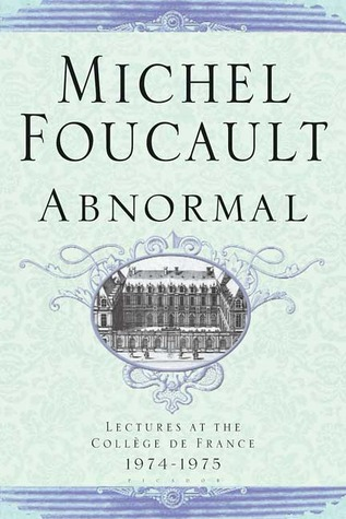 Abnormal by Michel Foucault