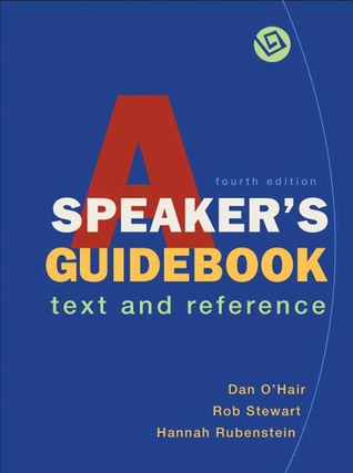 A Speaker's Guidebook by Dan O'Hair