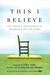 This I Believe by Jay Allison