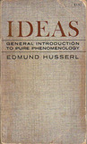 Ideas by Edmund Husserl