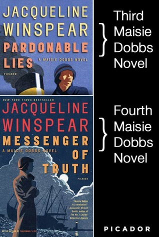 Maisie Dobbs Bundle #1, Pardonable Lies and Messenger of Truth by Jacqueline Winspear