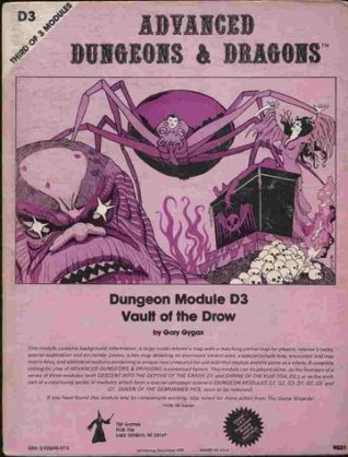 Vault of the Drow by Gary Gygax