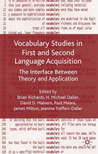 Vocabulary Studies in First and Second Language Acquisition: The Interface Between Theory and Application