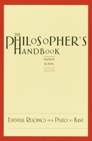 The Philosopher's Handbook by Stanley Rosen