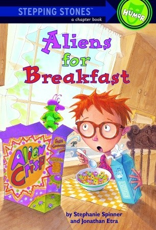Aliens for Breakfast by Stephanie Spinner