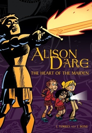 Alison Dare, The Heart of the Maiden by J. Torres