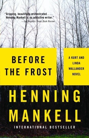 Before the Frost by Henning Mankell