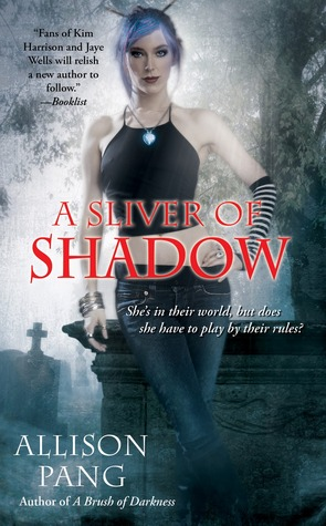 A Sliver of Shadow (Abby Sinclair, #2)