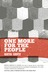One More for the People by Martha Grover