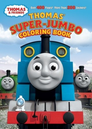 Thomas' Super-Jumbo Coloring Book (Thomas & Friends)