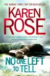 No One Left to Tell (Romantic Suspense, #13) (Baltimore Series, #2)