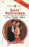 A Very Public Affair by Sally Wentworth