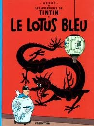 Le Lotus bleu by Hergé