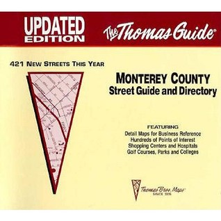 Monterey County Street Guide And Directory