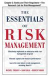 The Essentials of Risk Management, Chapter 3 - Banks and Their Regulators--The Research Lab for Risk Management?