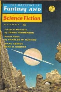 The Magazine of Fantasy and Science Fiction, September 1969 by Edward L. Ferman