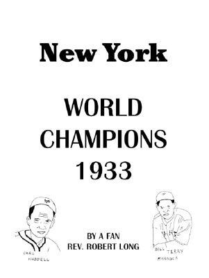 New York World Champions 1933