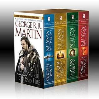 A Song of Ice and Fire: A Game of Thrones / A Clash of Kings / A Storm of Swords / A Feast for Crows (A Song of Ice and Fire, #1-4)