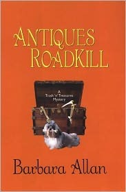 Antiques Roadkill by Barbara Allan (Max Allan Co...