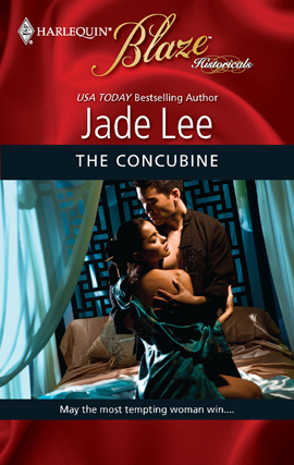The Concubine (Blaze Historicals #2) by Jade Lee