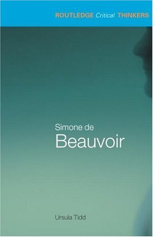 Simone de Beauvoir by Ursula Tidd