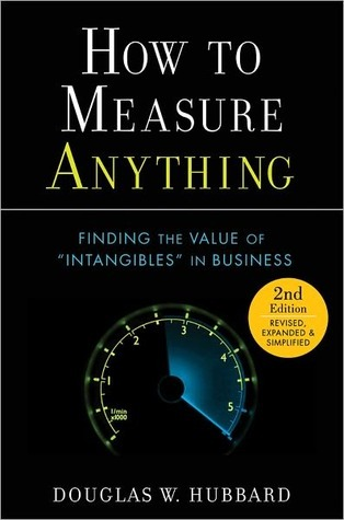 How to Measure Anything by Douglas W. Hubbard